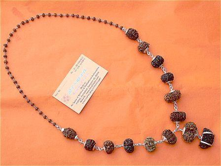Powerful Rudraksha Mala for Confidence and Happiness - Devshoppe