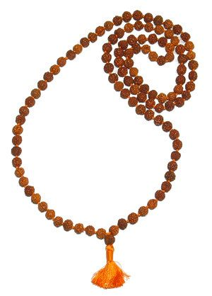 Rudraksha Mala of 8 MM Sized Beads -    Comes with Lab certificate and X-ray report - Devshoppe