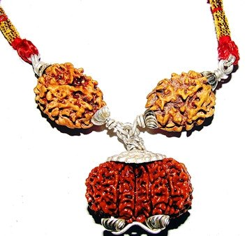 Marital Bliss Rudraksha Pendant for Harmony in Relations and Happy Married Life - Devshoppe