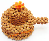 Very Rare Lord Shiva Shivling Shiva lingam made from Rudraksha Beads - Devshoppe