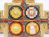 Sampoorna Mahalakshmi Yantra Chowki for wealth and prosperity - Devshoppe