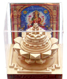 Rare Shriparni Sriyantra on Lotus for wealth , prosperity and finances - Devshoppe - 1