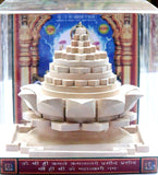 Rare Shriparni Sriyantra on Lotus for wealth , prosperity and finances - Devshoppe - 2