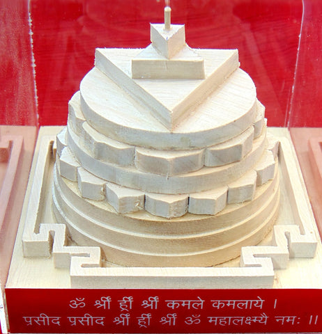 Shriparni Kanakdhara 3D yantra for wealth and Prosperity - Devshoppe - 1