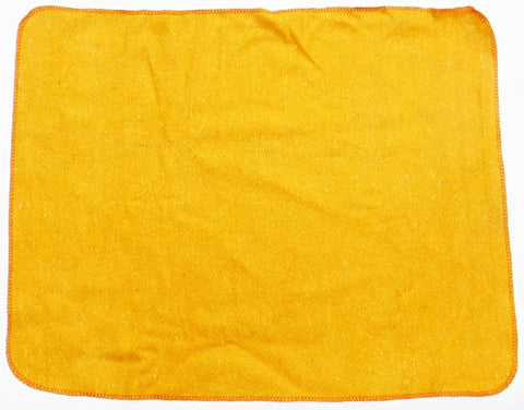 Woolen mat for meditation - Yellow Colored - Devshoppe