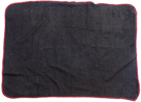Woolen mat for Tantrik sadhanas - Black Colored - Devshoppe
