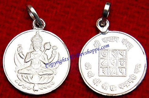 Sri chandra moonyantra pendant in silver devshoppe sri chandra moonyantra pendant in silver aloadofball Choice Image
