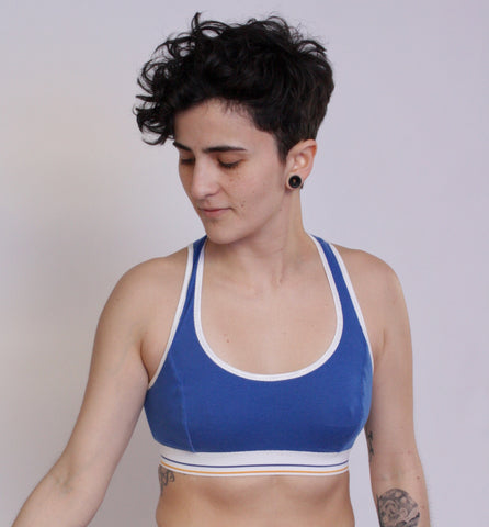 True Blue Sports Bra