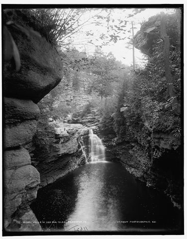 Nay Aug Glen, Scranton Pa. C. 1890-1901.