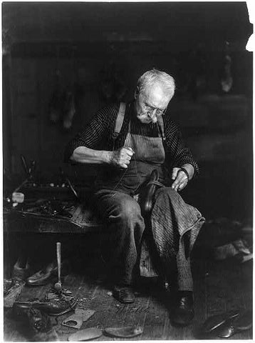 The Cobbler. C, 1901. Courtesy, The Library of Congress.