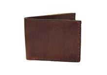 Tobacco Four Pocket Leather Bifold