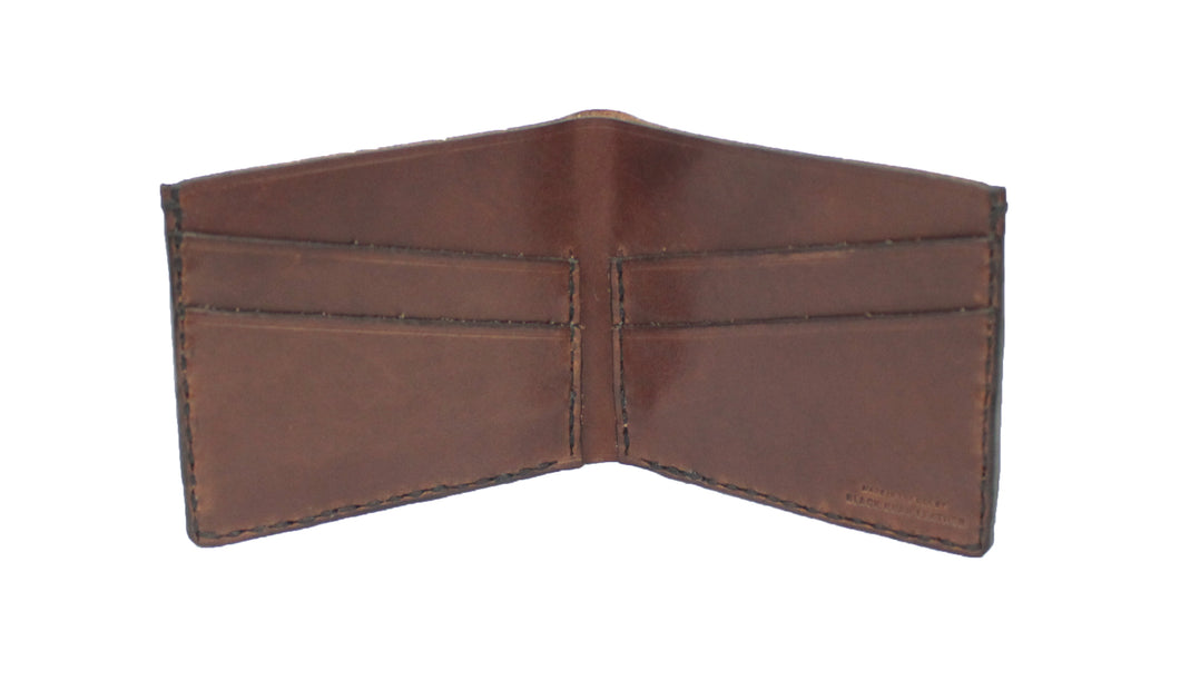 The Monroe: Four Pocket Leather Bifold