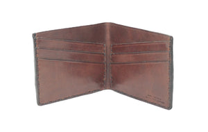 The Ellicott: Six Pocket Leather Bifold