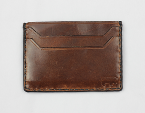 The Fulton: Leather Five Pocket Wallet