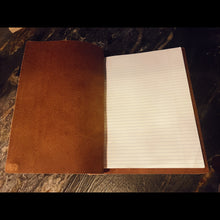 Leather 3 Ring Notebook