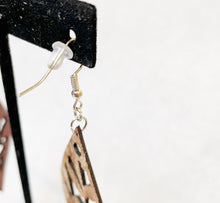 Leather Earrings: 'My Houseplant Jungle'