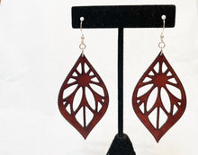 Leather Earrings: 'Symphony of Light'