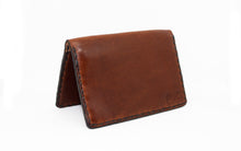 Card Bifold Tobacco Leather Wallet