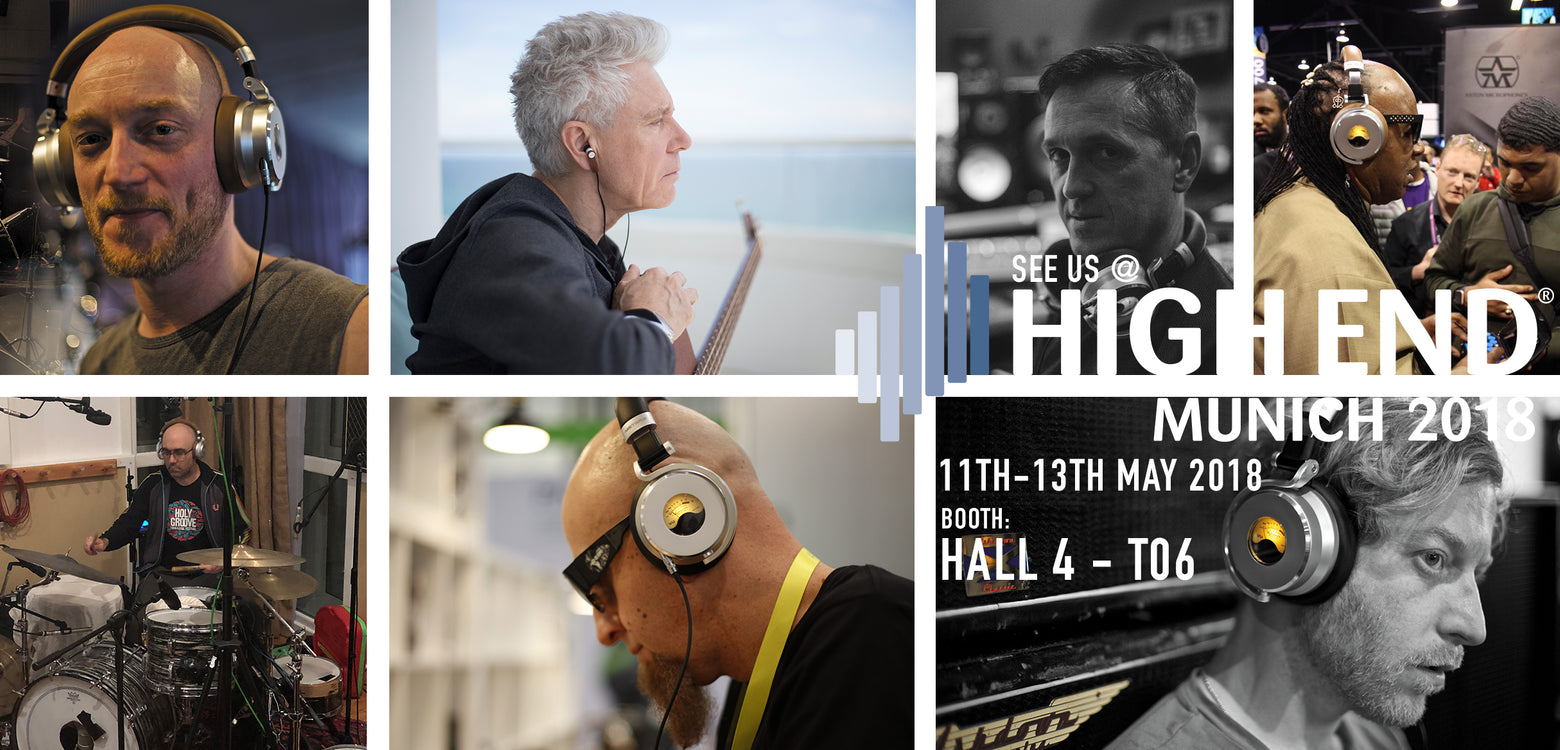 See us at High-End Munich 11th-13th May 2018