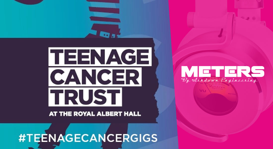 Meters Music Proud Sponsors of Teenage Cancer Trust 2018