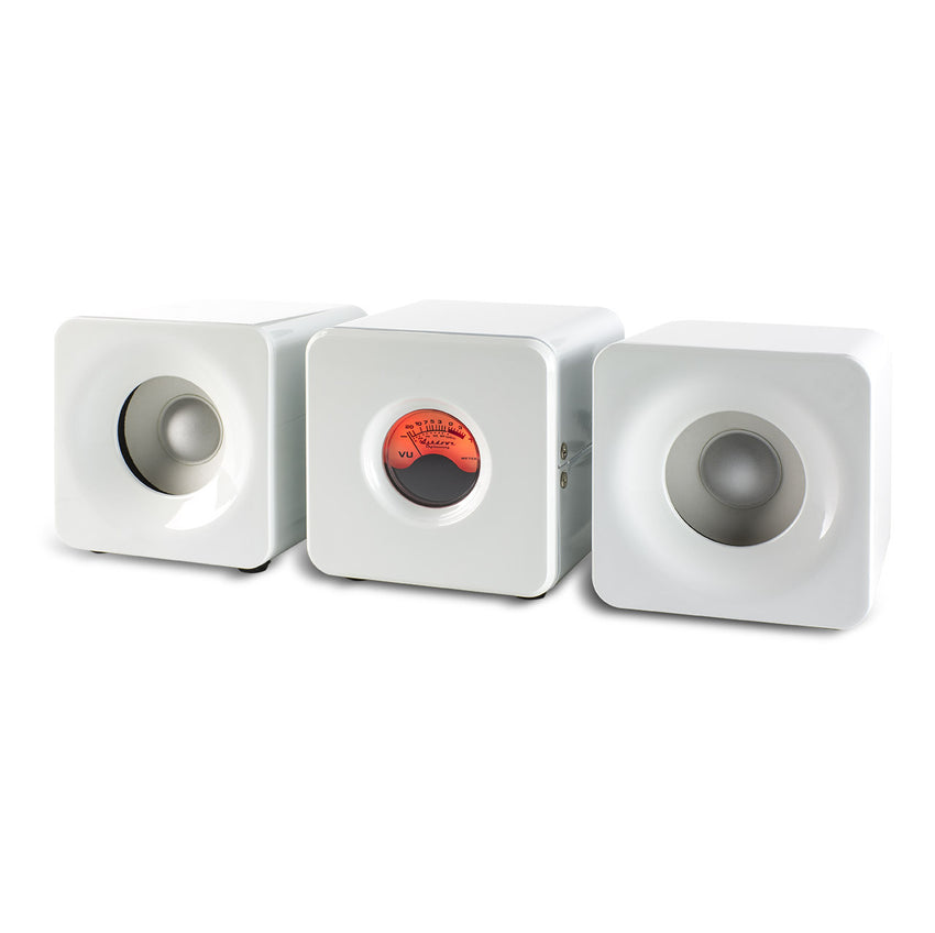 Meters Cubed - White