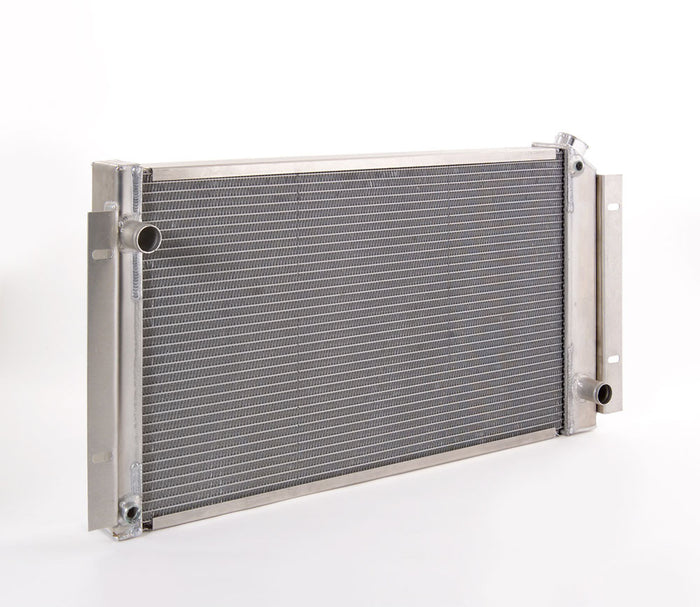 Direct-Fit Natural Finish Radiator for GM LT-1 w/Std Trans