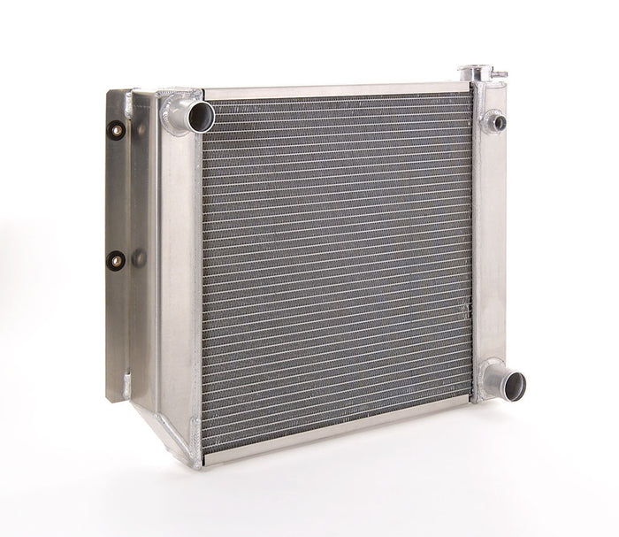 Direct-Fit Natural Finish Radiator for Jeep w/Std Trans
