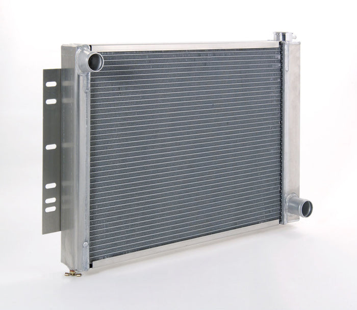 Direct-Fit Natural Finish Radiator for GM/Mopar w/Std Trans