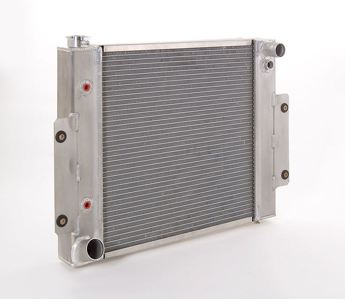 Direct-Fit Natural Finish Radiator for Jeep w/Auto Trans