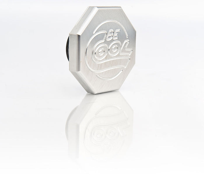 Natural Finish Billet Aluminum Octagon-Style Radiator Cap