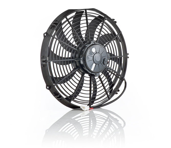 "13"" Euro Black, High Torque, Electric Puller Fan"