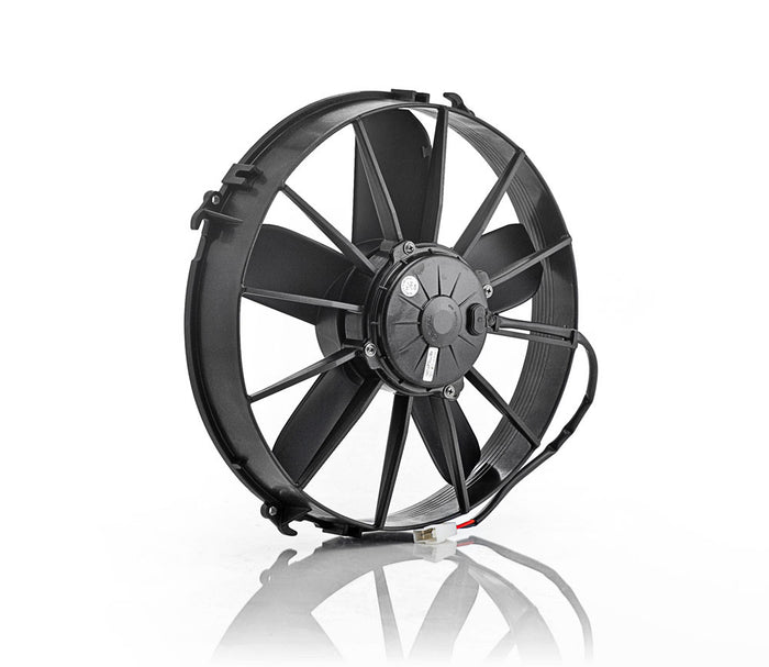"12"" Euro Black, High Torque, Electric Pusher Fan"