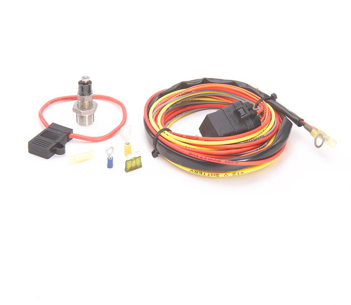 Electric Fan Wiring Harness Kit w/Sending Unit