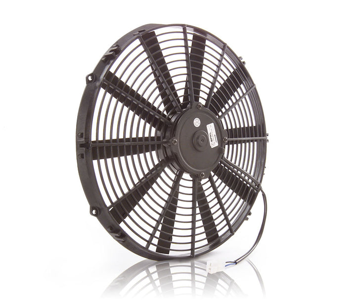 "16"" Euro Black, Medium Profile, Electric Pusher Fan"
