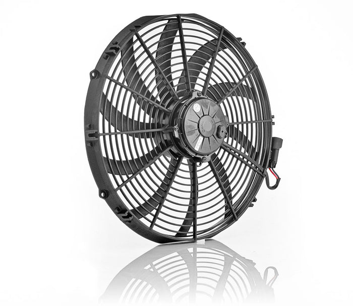 "16"" Euro Black, Super Duty, Electric Puller Fan"