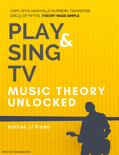 PlayandSingTV Music Theory Unlocked eBook