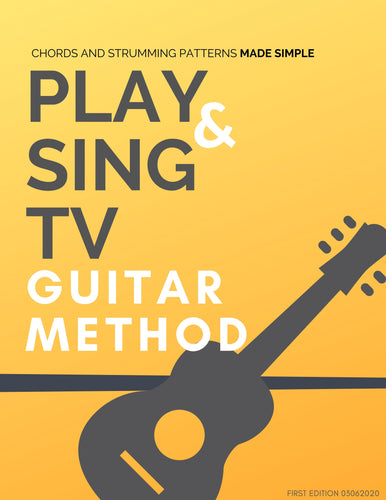 PlayandSingTV Guitar Method eBook