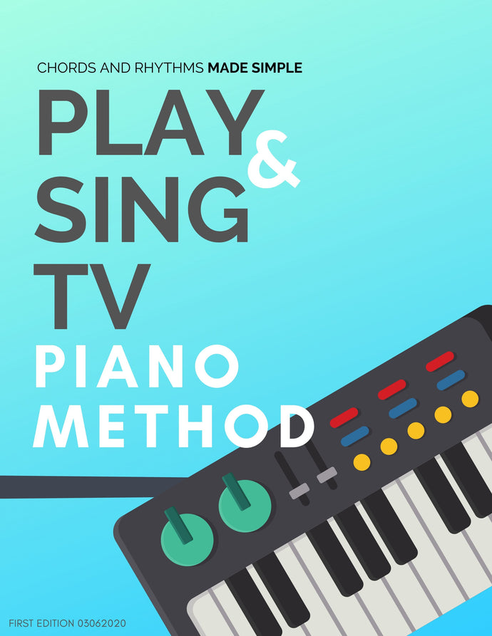 PlayandSingTV Piano Method eBook