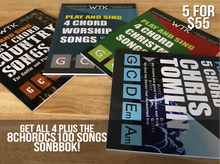 5 for 55 Worship Songbook Pack Bundle