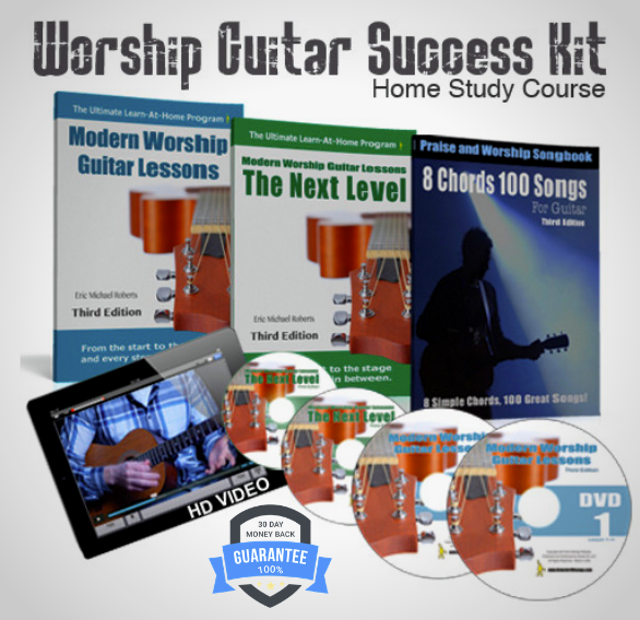 Worship Guitar Success Kit - Original Home Study Course