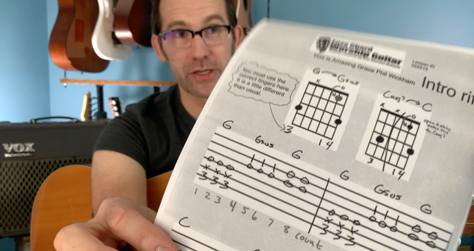This is Amazing Grace - YouTube Session - Free Chord and Strum Chart