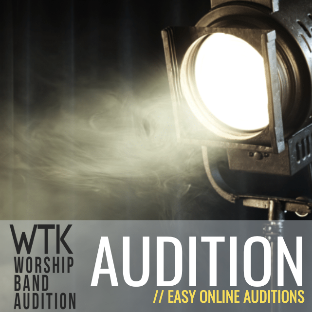 Worship Band Audition Online - Single Audition Session