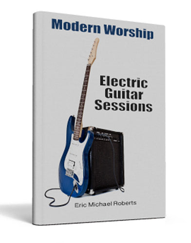 Modern Worship Electric Guitar Sessions - Book