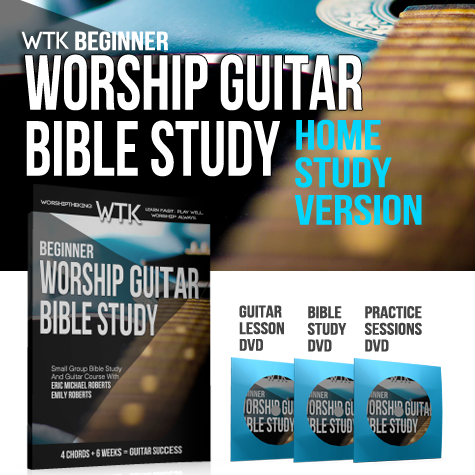 Worship Guitar Bible Study - Home Study Version Bundle
