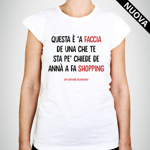 T-Shirt Donna - Shopping
