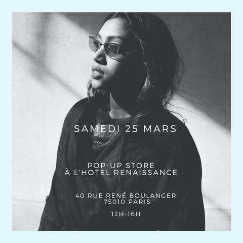Pop up store Lunetist Hotel Renaissance Paris 25 mars