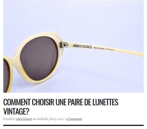 Lunetist article presse Dress Like a Parisian