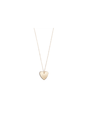 Cloverpost Heart Pendant Necklace