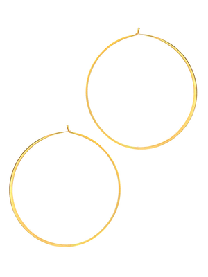 Tai Large Gold Hoop Earring