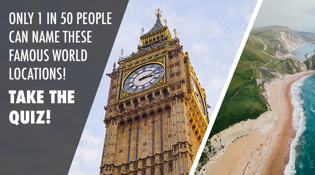 Only 1 in 50 People Know the Name of These Famous World Locations [QUIZ]
